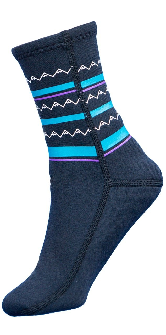 Oaksocks-black-pattern