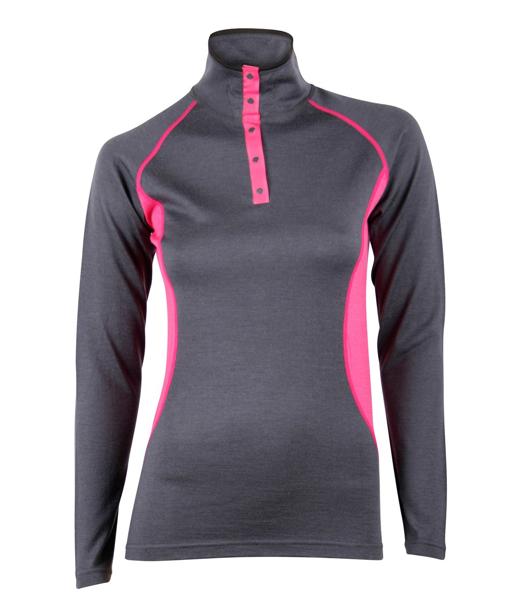 Merino-top-polo-W_dark-grey-cerise